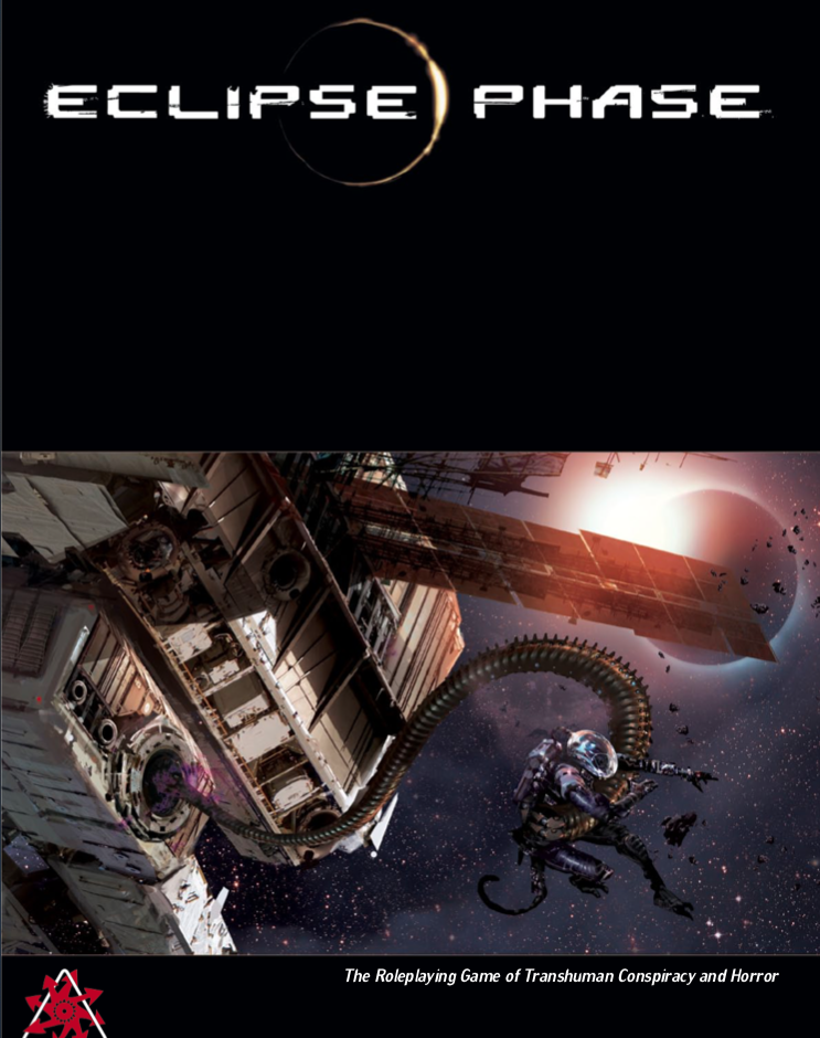 Cover of Eclipse Phase