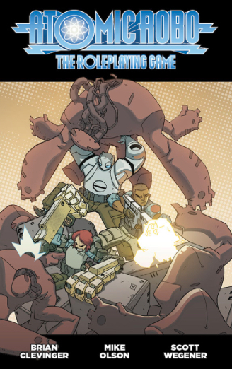 Cover of Atomic Robo
