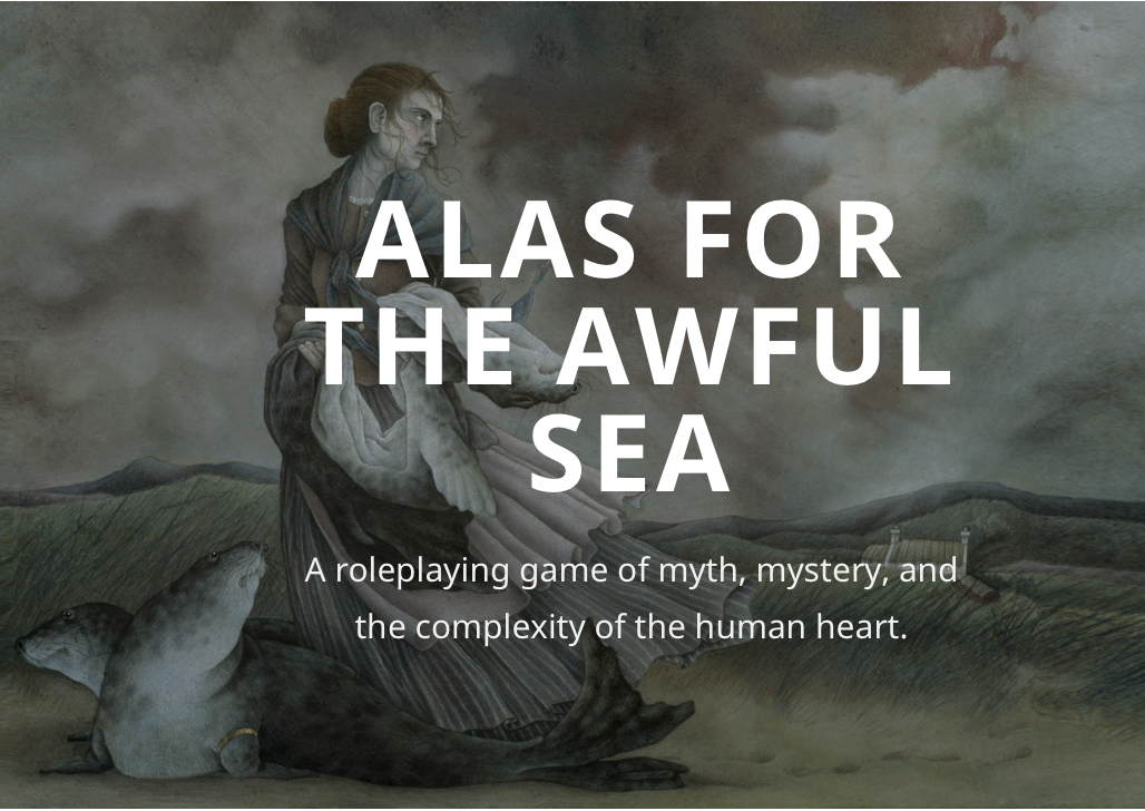 Cover of Alas for the Awful Sea