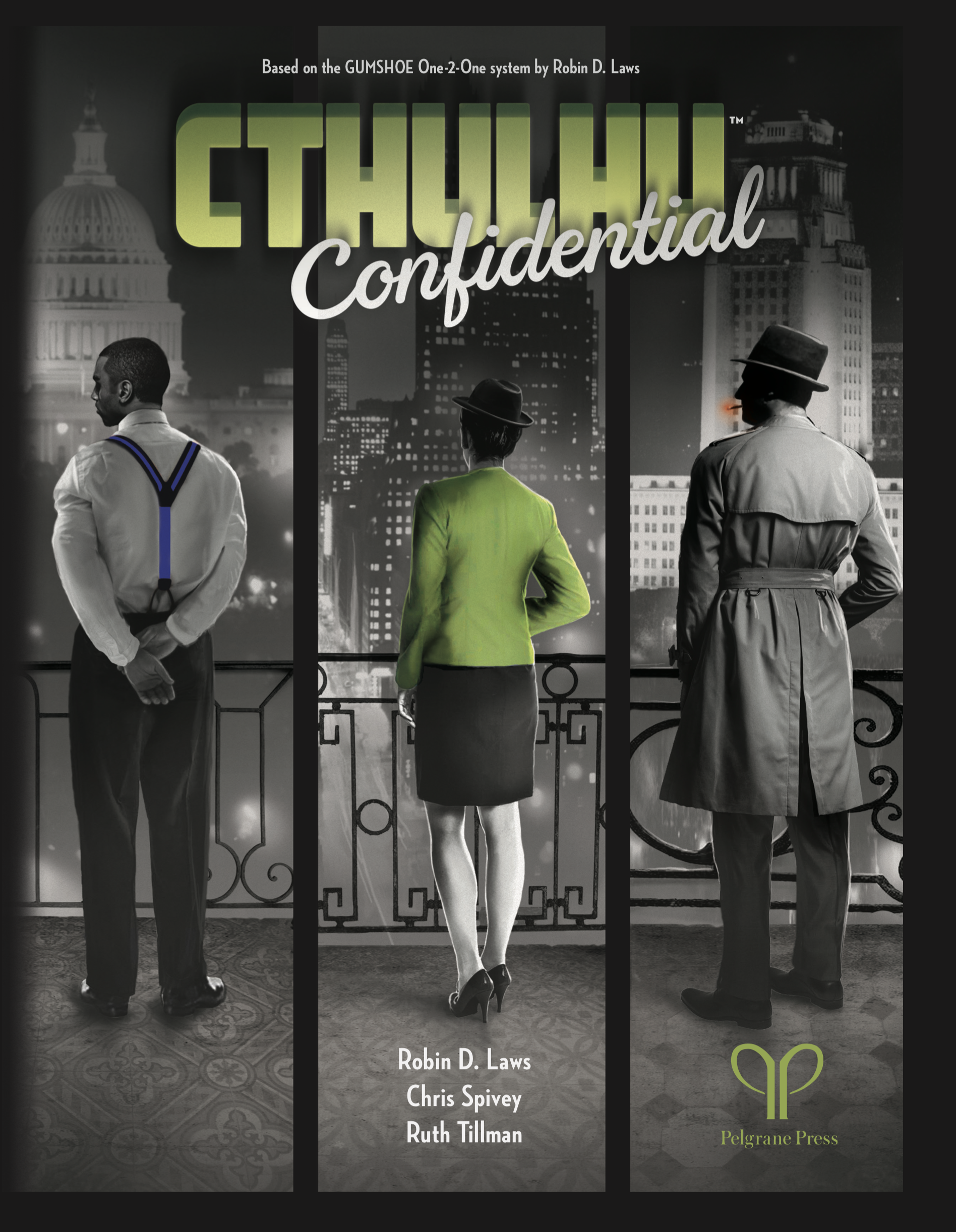 Cover of Cthulhu Confidential